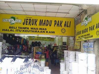 Jeruk Madu Pak Ali Di Chowrasta Road