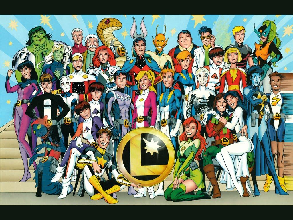 vnuu the legion of super heroes .