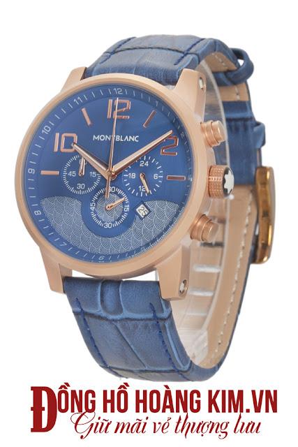 Đồng hồ nam dây da cao cấp giá rẻ Montblantic MB04