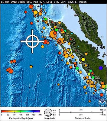 info gempa aceh terbaru 11 april 2012