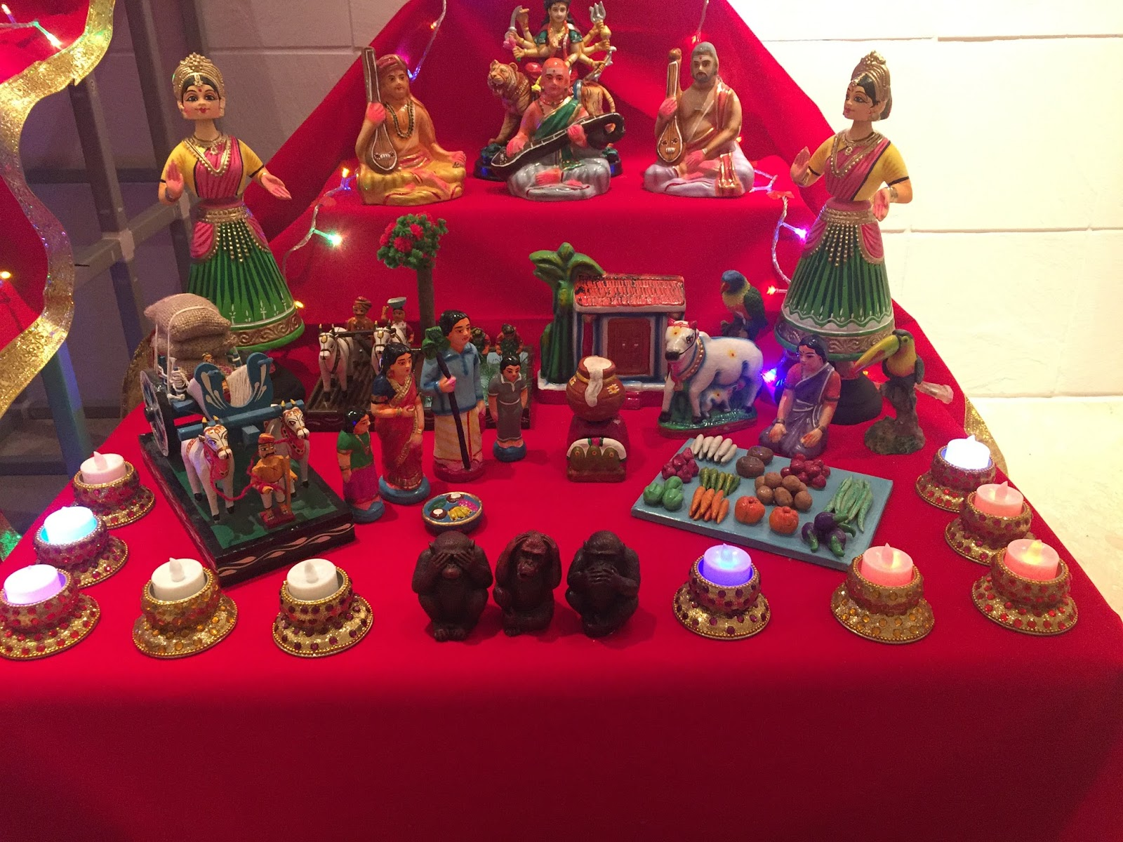Aalayam Colors Cuisines And Cultures Inspired Dasara Bombe