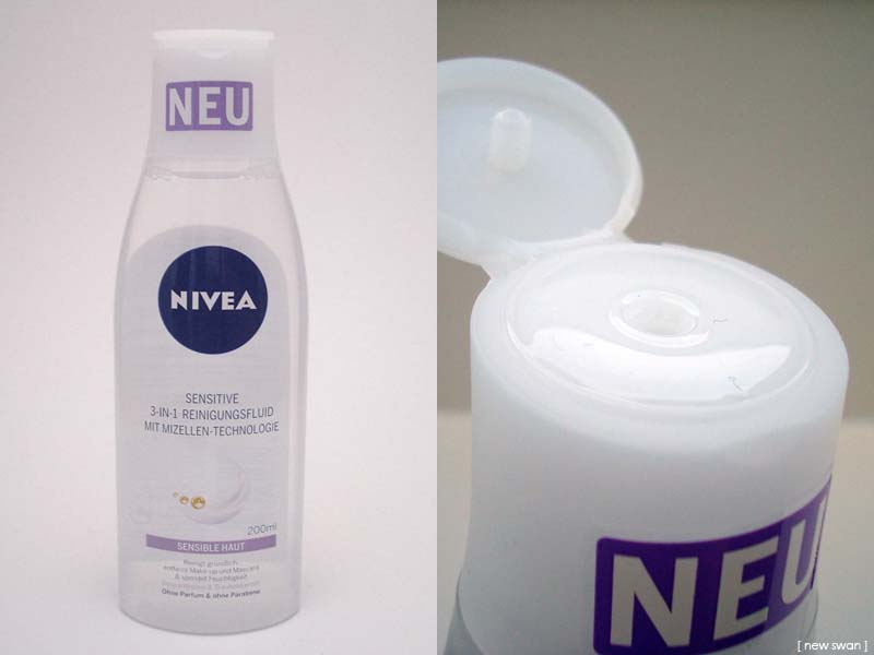 Nivea Sensitive 3-in-1 Reinigungsfluid mit Mizellen-Technologie