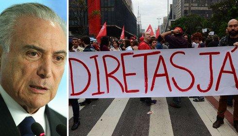 Brasil está pronto para eleições diretas