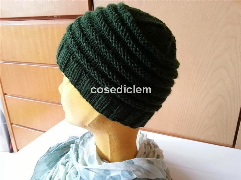 cose di clem: cappello di lana - tutorial