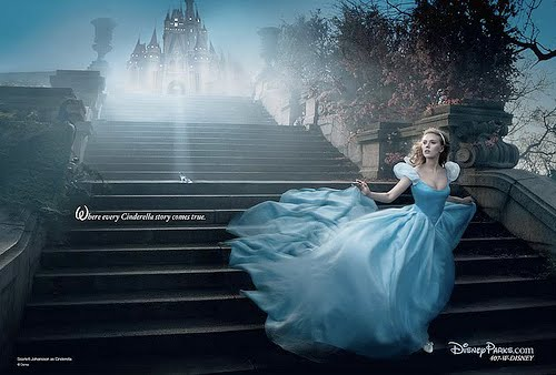 scarlett johansson as cinderella by. Scarlett Johansson as
