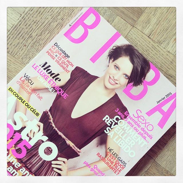 magazine féminin biba