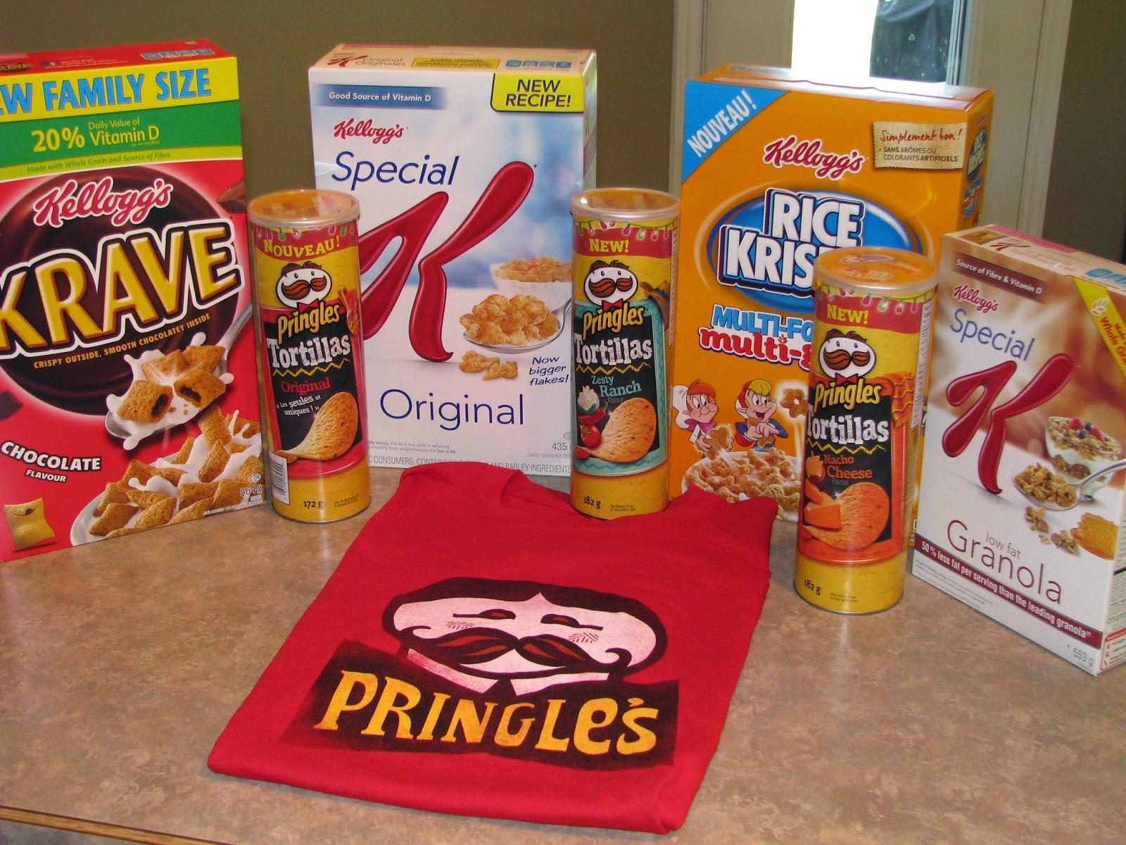 Kellogg's Innovation Prize Pack | Addicted to Recipes contest