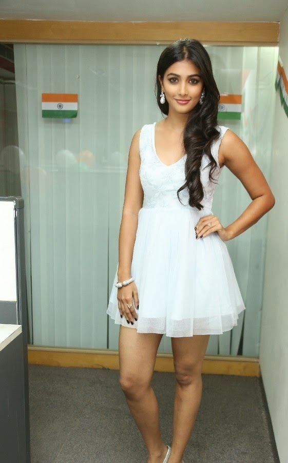 Pooja Hegde at Movie Songs Launch Event Stills