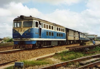 Tanzanian Train