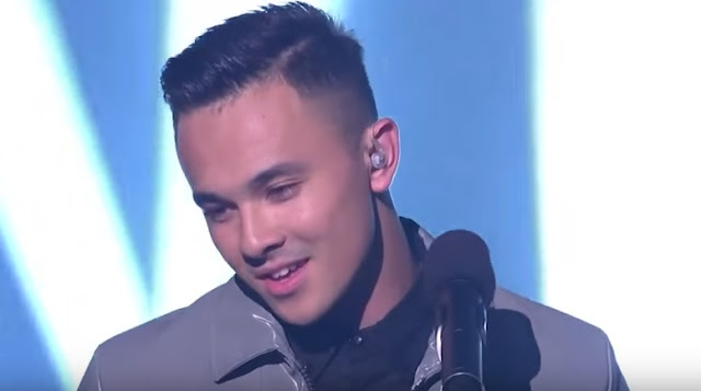 X Factor Australia grand finalist Cyrus Villanueva performs winner's song 'Stone'
