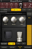 AmpliTube iRig review   030 at iphone MetalAmp