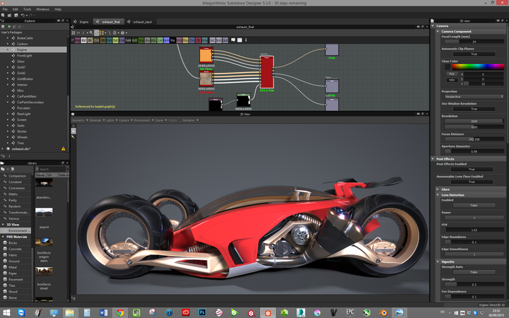 substance designer how to create a material