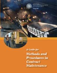 AASHTO A Guide for Methods and Procedures in Contract Maintenance
