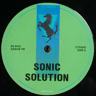 Sonic Solution - Beat Time / Get On The Move