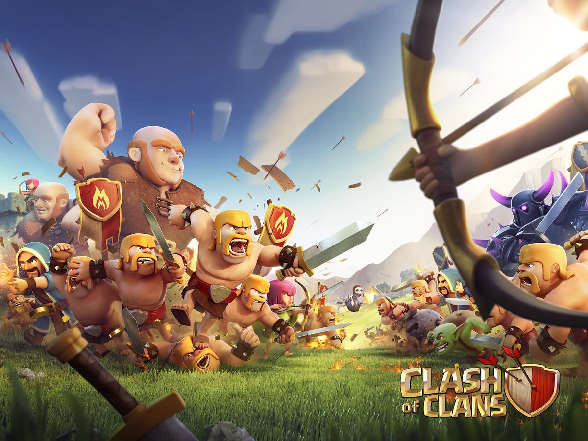 Download Apk Clash Of Clan Game Android dan iOS Yang Sedang Populer