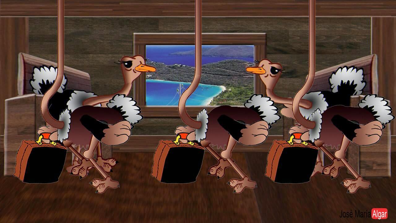 Españistán. El Tren de los Avestruces.