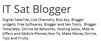 IT Sat Blogger
