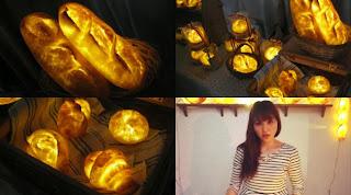 Lampu Yang Terbuat Dari Roti