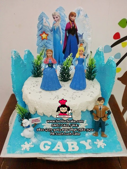 Kue Tart Frozen Disney Movie