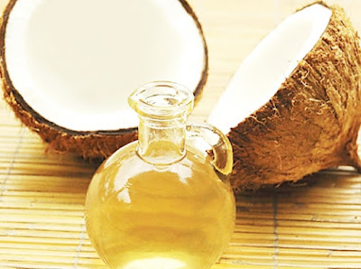 The secret of the mouth care with coconut oil