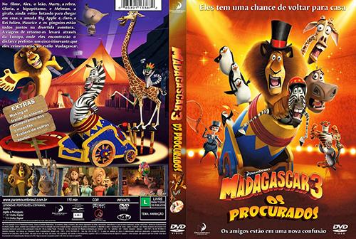 Madagascar 3: Os Procurados Torrent - BluRay Rip 1080p Dual Áudio (2012)
