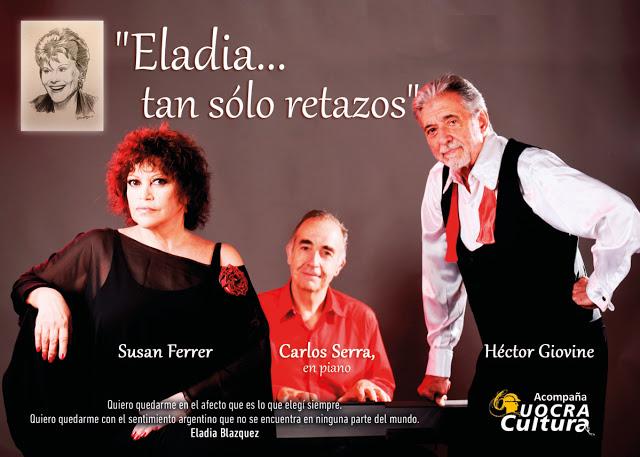 """* SUSAN FERRER: """" Fue Eladia la que me eligió"""""""