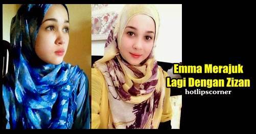 Emma Maembong Merajuk Lagi Dengan Zizan