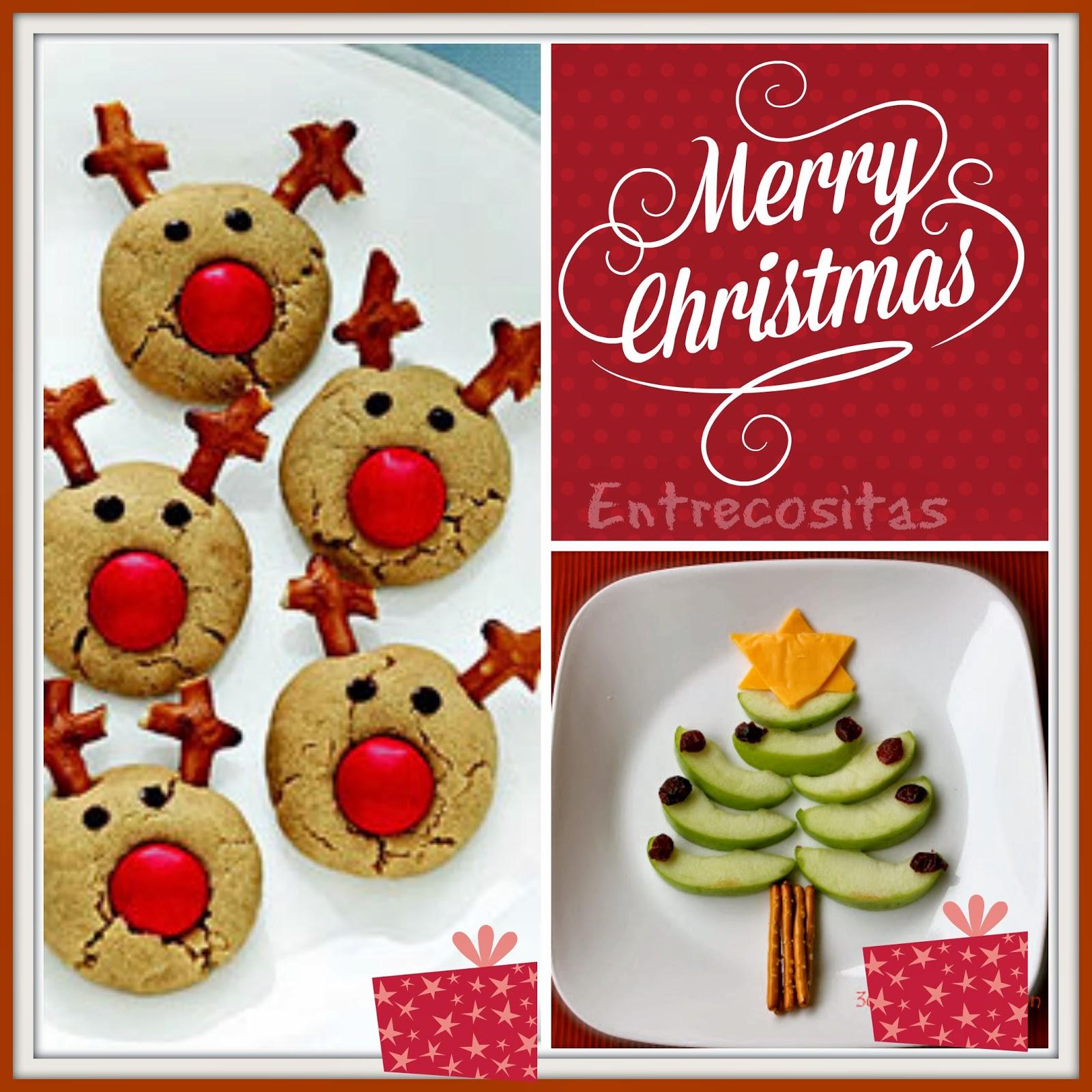 vamos a tener estos das previos a la navidad un montn de diversin creando comidas navideas con los nios