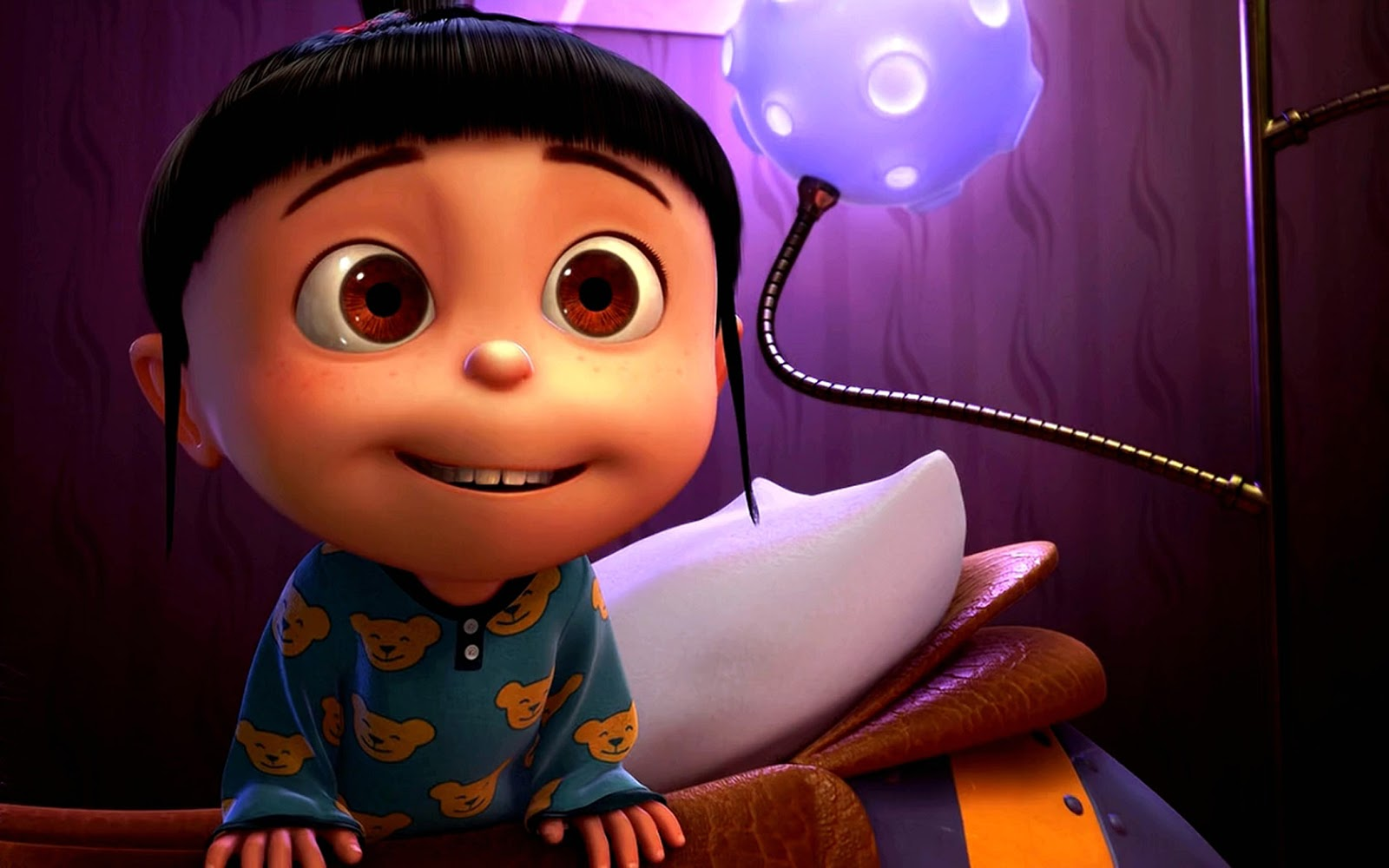 agnes despicable me hd wallpapers free download wallpaper dawallpaperz. Black Bedroom Furniture Sets. Home Design Ideas
