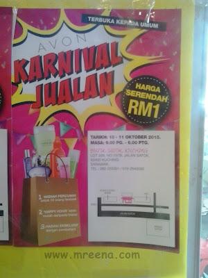 Sale Avon Serendah RM1