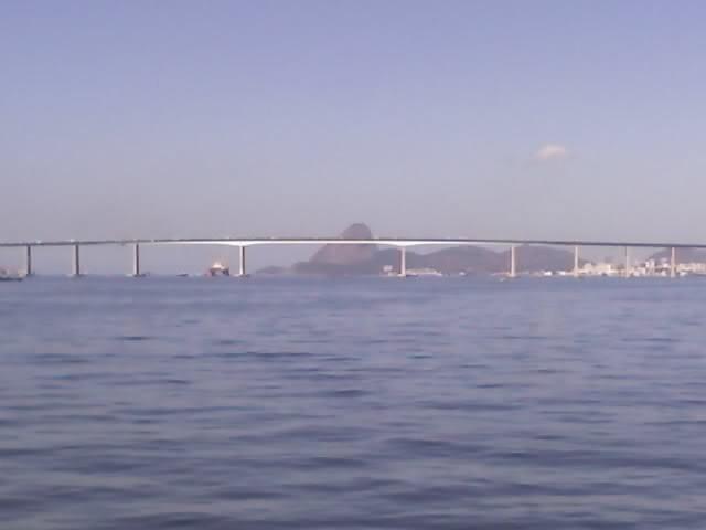 VISTA PONTE RIO ENTRE NITERÓI