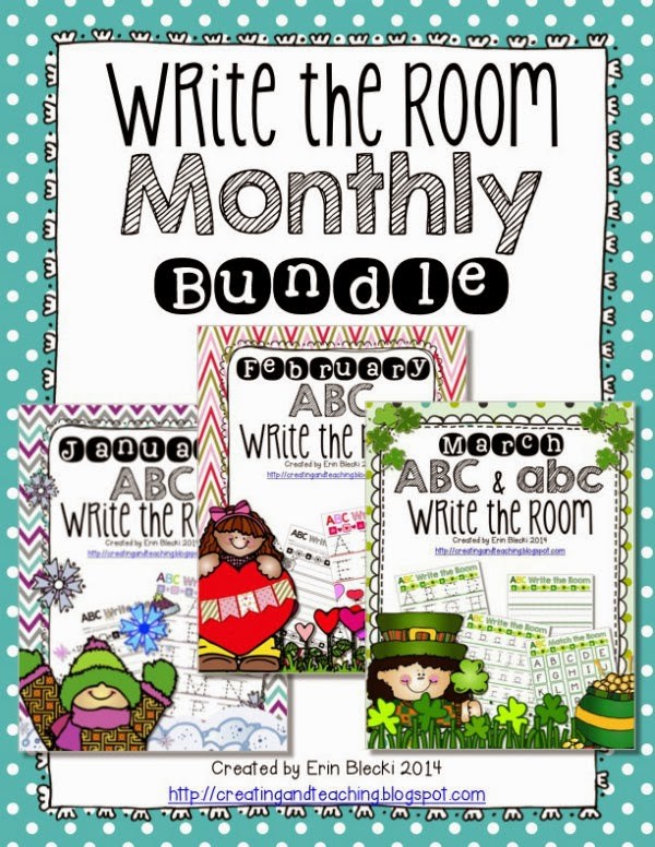 http://www.teacherspayteachers.com/Product/Write-the-Room-Monthly-Bundle-1123174
