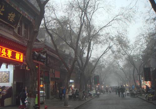 中国西安旅行記(2012年) 夫婦二人で真冬の中国・西安へ