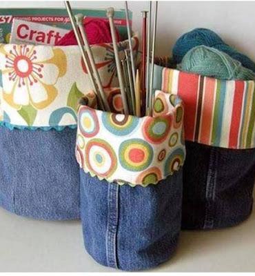 Bettdecke fürs Kinderzimmer aus Jeansstoffresten nähen