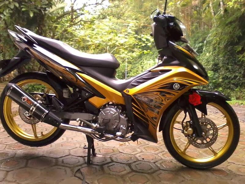 Gambar Modifikasi Motor New Yamaha Jupiter MX Terbaru title=