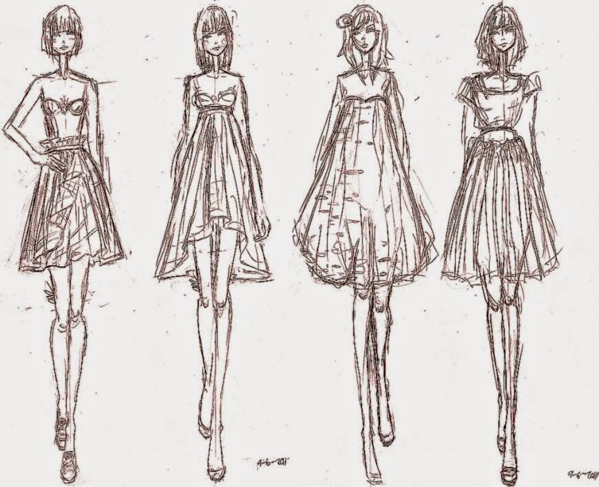 free fashion design sketches for girls best hd wallpapers