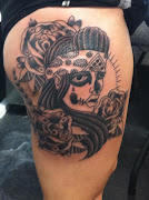 Day Of The Dead Lady (Girl) Tattoo Collection