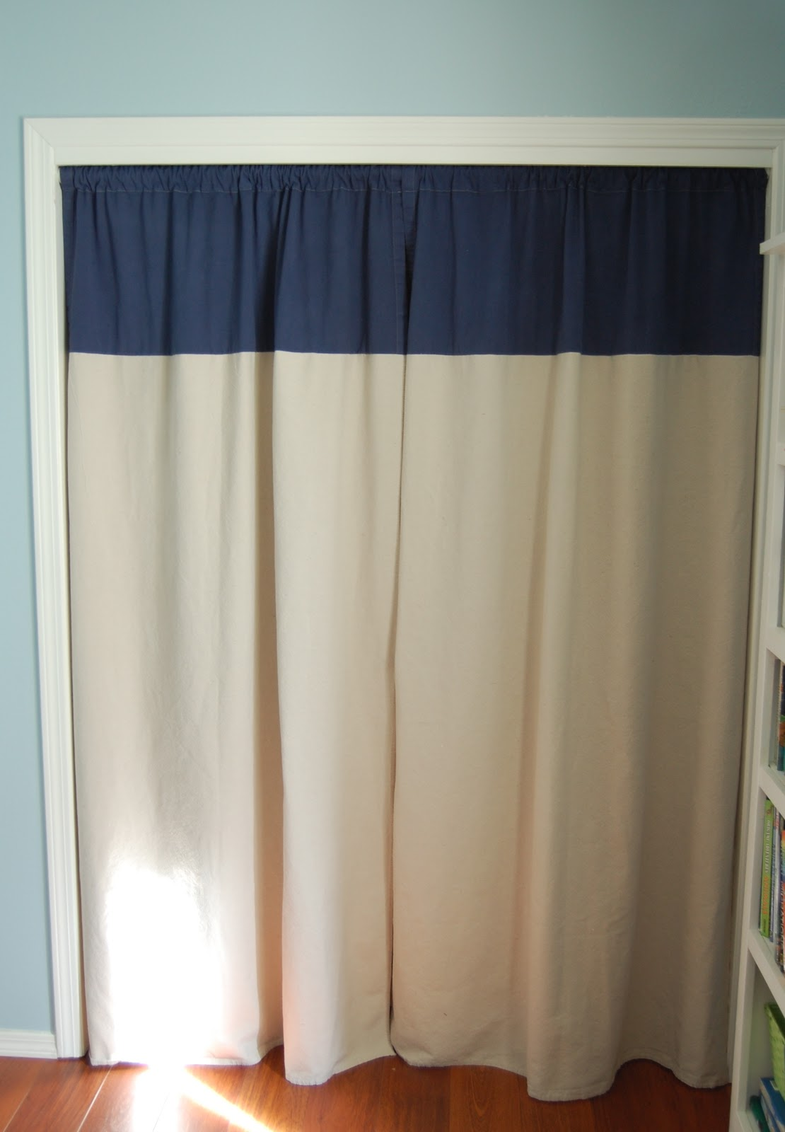 Drop cloth curtains diy desert willow lane