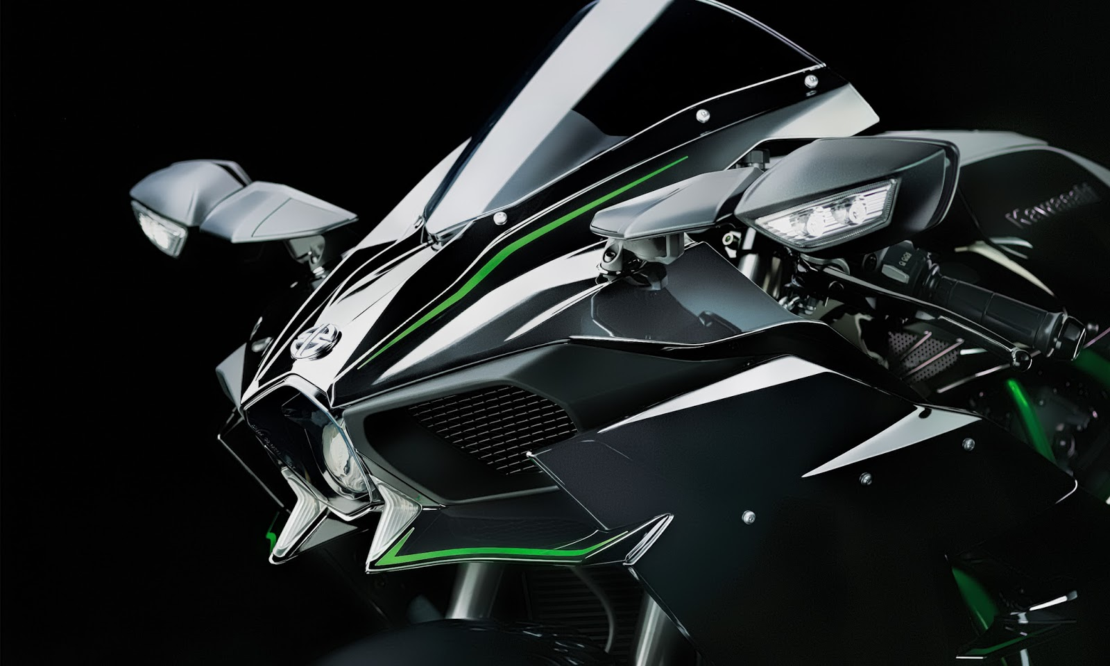Kawasaki Ninja H2R HD Wallpapers  High Definition Free Background