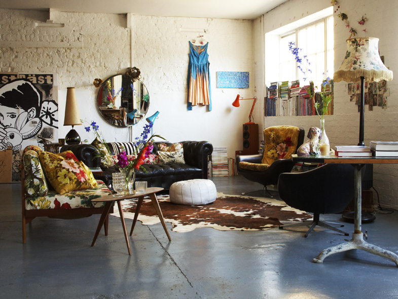 Home garden information center un loft vintage londres - Boutique vintage londres ...
