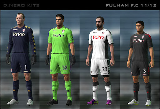 Fulham 11/12 Kit Set by Dark Nero