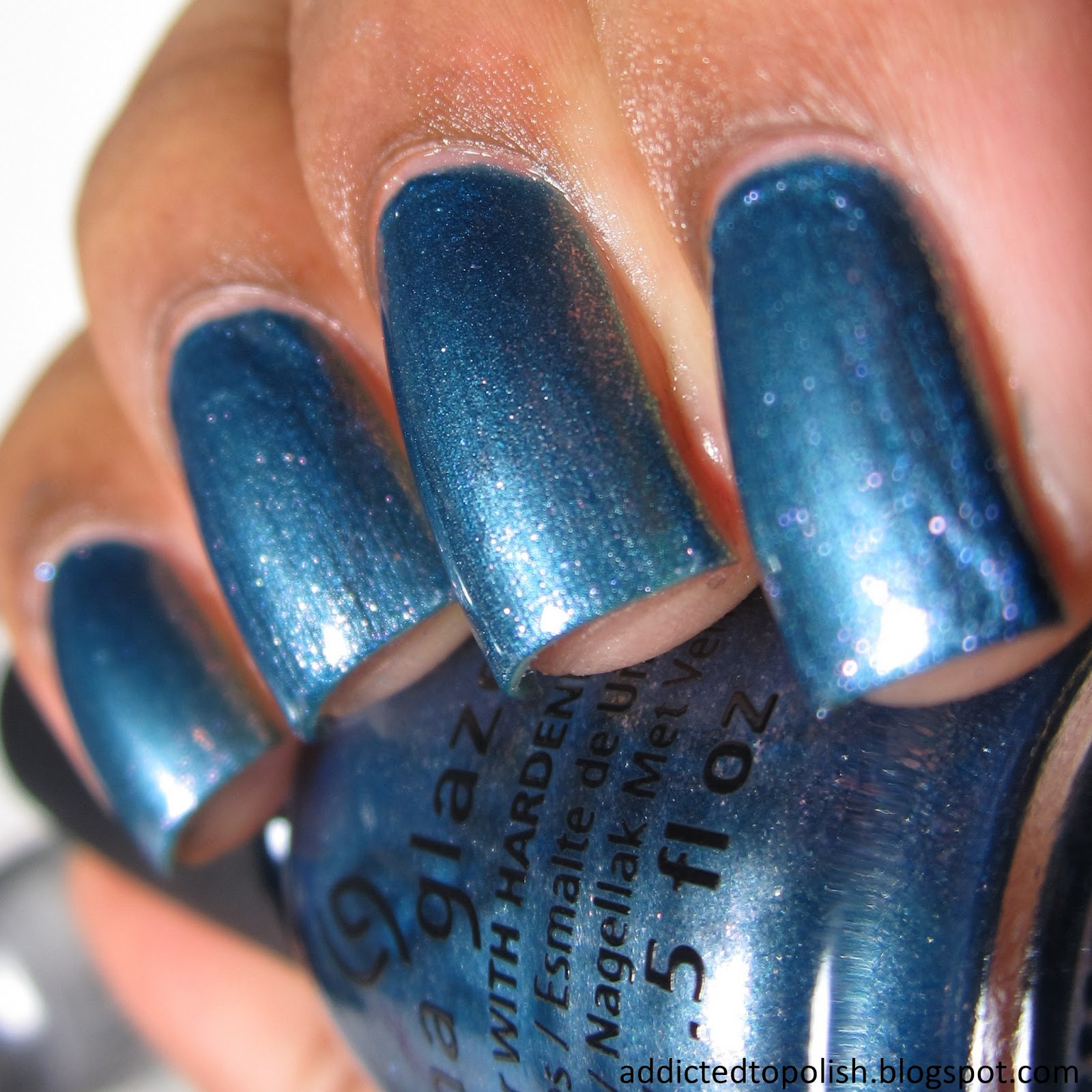 China Glaze December to Remember Twinkle Winter 2014