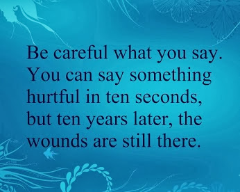 Cool stuff you can use.: Be Careful what you say