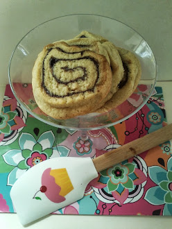 My Baking - Peanut butter chocolate Pinwheels