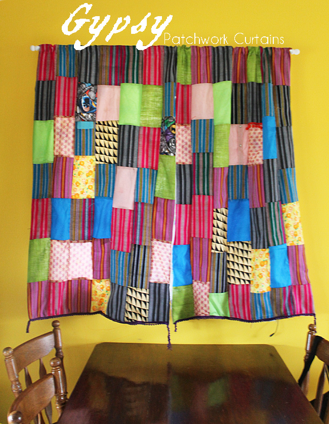 Patchwork Gypsy Curtains