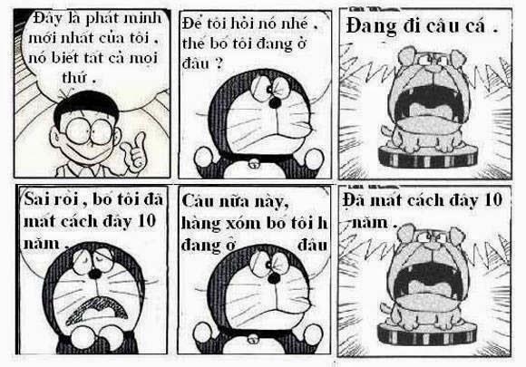 Doremon chế Phát Minh Mới của Nobita