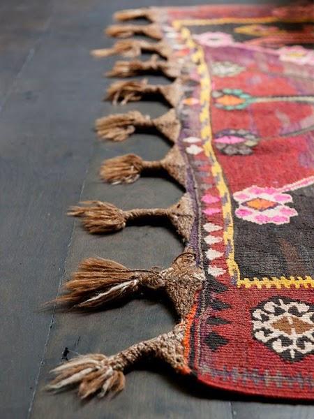 Kolorowe kilimy z maroko