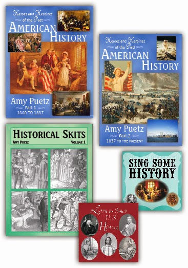 Heroes and Heroines of the Past:  American History Curriculum (review)