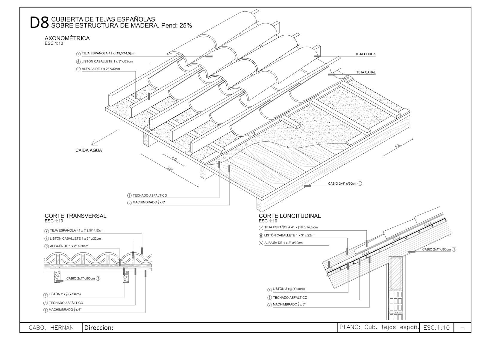 Detalles constructivos de techos 28 images detalles constructivos cad 3d forjado de viguetas - Detalle constructivo techo ...