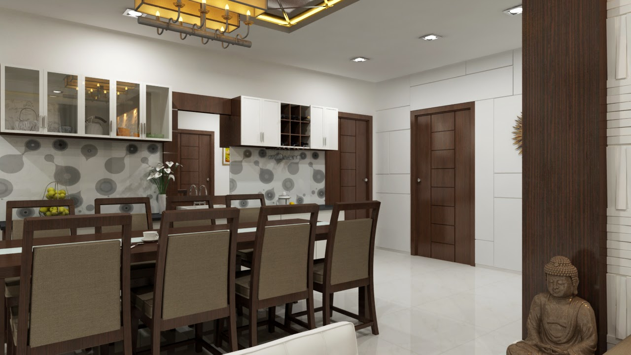 Interior designers in hyderabad dining room for Apartment interior design hyderabad